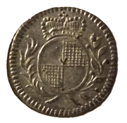 1 pfennig Christian Friedrich Karl Alexander – avers