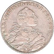 1 Thaler - Friedrich Christian – avers
