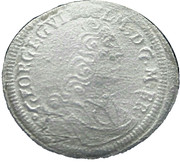 1 kreuzer Georg Wilhelm – avers