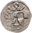 1 Pfennig - Johann IV. and Albrecht Achilles – avers