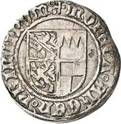 1 Schilling - Johann IV. and Albrecht Achilles (Coin unification) – avers