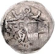 1 Pfennig - Johann IV. und Albrecht Achilles – avers