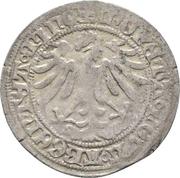 ½ schilling Friedrich IV. (Schwabach) – revers