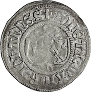 1 Schilling - Johann IV. Alchimysta – avers