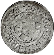 1 Schilling - Johann IV. Alchimysta – revers