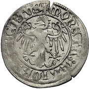 1 Schilling - Johann IV. Alchimysta and Albrecht Achilles – revers