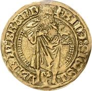 1 Goldgulden - Friedrich der Ältere und Sigismund (Schwabach) – avers