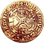1 Goldgulden - Friedrich II der Ältere (Schwabach) – revers