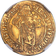 1 goldgulden Casimir & Georg – avers
