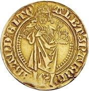 1 Goldgulden - Albrecht Achilles – avers