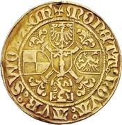 1 Goldgulden - Albrecht Achilles – revers