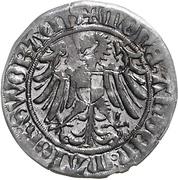 1 Schilling - Friedrich IV. (Schwabach) – revers