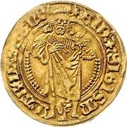 1 Goldgulden - Friedrich and Sigismund – avers