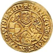 1 Goldgulden - Friedrich and Sigismund – revers