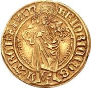 1 Goldgulden - Friedrich II. the Elder – avers