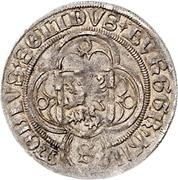 ½ Schilling - Friedrich IV. the elder – avers