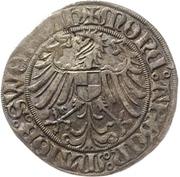1 Schilling - Friedrich IV. the elder – revers