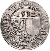 1 Batzen - Georg the Pious – avers