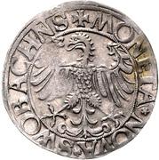 1 Batzen - Georg the Pious – revers