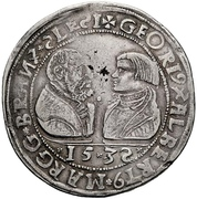 1 Guldengroschen – avers