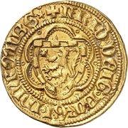 1 Goldgulden - Friedrich V. – avers