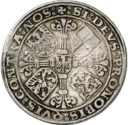 ½ Thaler - Georg the Pious and Albrecht the Young – revers