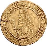 1 Goldgulden - Albrecht the Young – avers