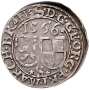 2 Kreuzer - Georg Friedrich von Ansbach – avers