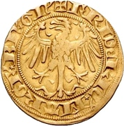 1 Goldgulden - Friedrich I. Margrave of Brandenburg – avers