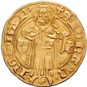 1 Goldgulden - Friedrich I. Margrave of Brandenburg – revers