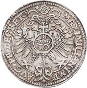 ½ Guldenthaler - Georg Friedrich I. – revers