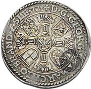 1 Guldenthaler - Georg Friedrich I. – avers