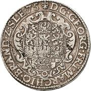 1 Reichsguldiner - Georg Friedrich I. – avers