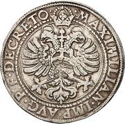 1 Reichsguldiner - Georg Friedrich I. – revers