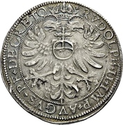 1 Guldenthaler - Georg Friedrich I. – revers
