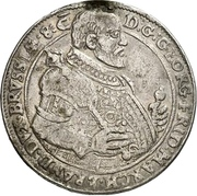 ⅛ Thaler - Georg Friedrich the Elder (Death) – avers