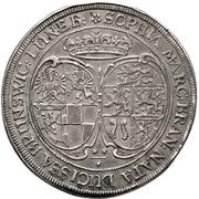 ½ Thaler - Johann IV. Alchimysta (Death) – avers