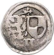 1 Pfennig - Johann III. und Friedrich VI. – avers