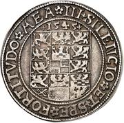 1 Thaler - Johann von Küstrin – revers