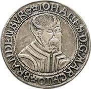 1 Thaler - Johann von Küstrin – avers
