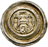 1 Brakteat - Otto II. (Salzwedel) – revers