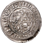 1 Groschen - Friedrich II. der Eiserne (Rathenow) – avers