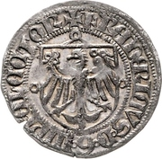 1 Groschen - Friedrich II. der Eiserne -  revers