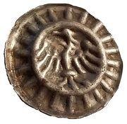 1 hohlpfennig Friedrich II – avers