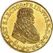 Médaille - Friedrich Wilhelm, Bataille de Varsovie – avers