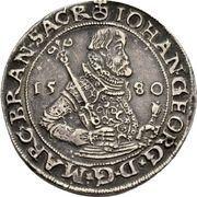 ½ Thaler - Johann Georg – avers