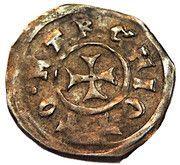 1 pfennig Otton IV – revers