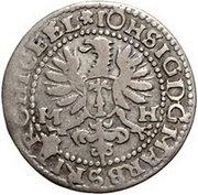 1 groschen - Johann Sigismund – avers