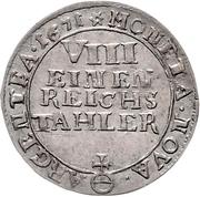 ⅛ Thaler - Friedrich Wilhelm – revers