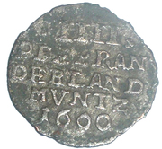 4 pfennig - Friedrich III – revers